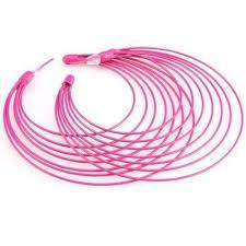 80s hoop earrings pink hoop earrings buy retro bright neon pink hoop earrings kitsch
