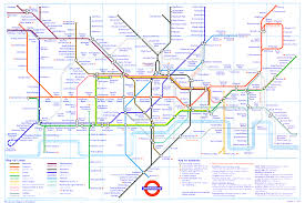 England Train Map by England Thefriendlygiraffe
