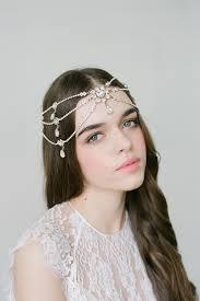 headpiece wedding melora silver boho bridal headpiece bridal headpieces wedding