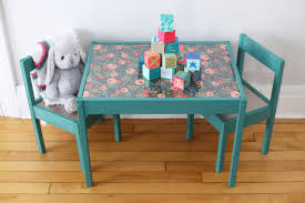 Ikea Childrens Picnic Table by Diy Kids Table Makeover The Sweetest Occasion
