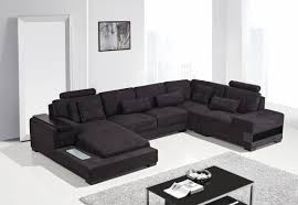 Black Fabric Sectional Sofas Sectional Sofa Design Gentle Black Fabric Sectional Sofa