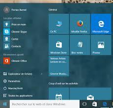 bureau disparu windows 7 windows 10 astuces pour personnaliser le menu démarrer astuces