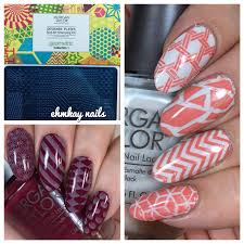 ehmkay nails morgan taylor geometric stamping kit