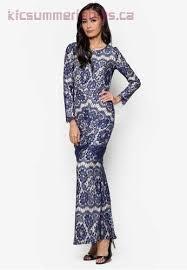 Baju Original s modern ethnic wear vercato baju kurung lace overlay
