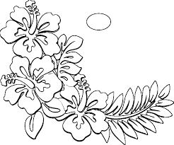 hawaii state coloring pages archives for hawaiian coloring pages