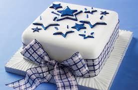 how to make a star design christmas cake goodtoknow