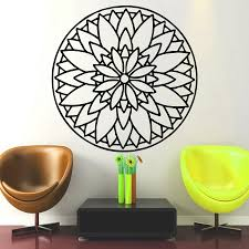 home decor wholesale china rectangle waist home decor wall vinyl wall decals removable home decor mandala indian pattern yoga wall decorative sticker art murals for with home decor wholesale china