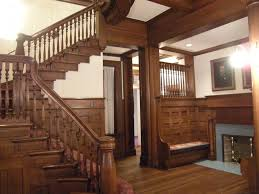 wood home interiors home interiors with varnished wooden stairs