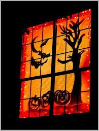 Window Halloween Silhouettes Easy To Do Halloween Decorations Identity Magazine