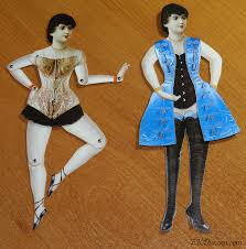 ekduncan my fanciful muse gothic girls paper doll dress up for