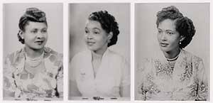 1950 african american hairstyles pictures of african american fashion in 1950 at the earnest