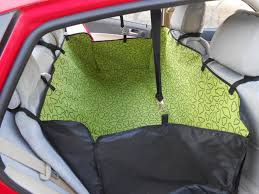 dog cat seat cover oxford waterproof rear back seat carrier cover