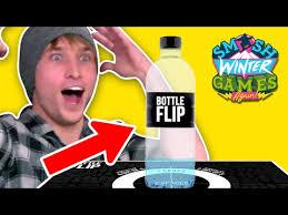 Challenge Smosh Bottle Flip Challenge Smosh Winter