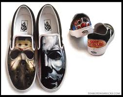 halloween sneakers one of a kind shoes by sink or swim kicks lib magazine