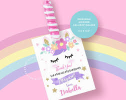 party items unicorn party favors etsy