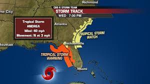 how will tropical storm andrea impact us wtvr com