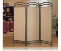 3 panel beautiful metal frame room divider panel screen room