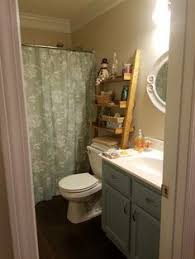 Leaning Bathroom Ladder Over Toilet by Over The Toilet Ladder Shelf Choose Color And Width Of Shelf