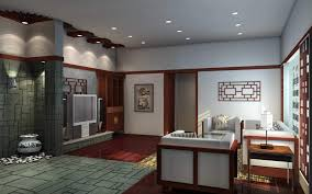 appealing chinese interior decorating ideas of family room