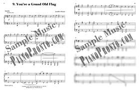 Youre A Grand Old Flag Piano Pronto Teacher Duets Movement 2 Hardcopy Method Book