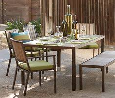 Orchard Supply Outdoor Furniture Seaside Dining Set From Orchard Supply Hardware Umbrellas And