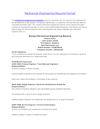 ic design engineer sample resume 20 mechanical engineer cover