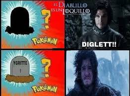 Ygritte Meme - jon snow discovers ygritte s grave diglett gravestone know your meme