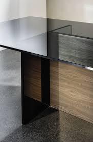 Contemporary Dining Table Contemporary Dining Table Wooden Glass Rectangular Regolo