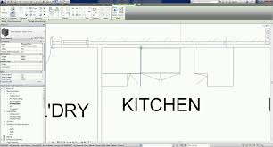 Revit Kitchen Cabinets Revit 2016 Project B 17 Adding Kitchen Casework Or Joinery