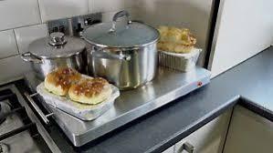 shabbat plate kitchen food warmer buffet hot plate stainless steel electric