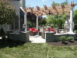 Outdoor Concrete Patio Designs Concrete Patio Design In Overland Park Brick Pavers Slate