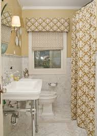 bathroom curtain ideas for windows window valancein bathroom traditional with graceful