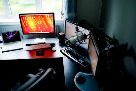 Amazing Computer Desks Fabulous Brilliant Idea To Build Cool Computer Desks Design
