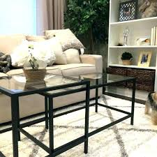 target coffee table set stackable end tables coffee table nesting tables set clear triangle