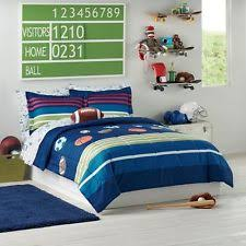 Soccer Comforter Sports Kids U0027 And Teens Bedding Sets Ebay