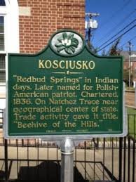 Kosciusko Water And Light Welcome To The City Of Kosciusko Mississippi