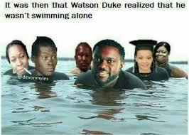 Duke Memes - watson duke swim memes my trini lime