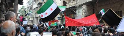 Rebel Syrian Flag Waiting For Victory A Personal View Of The Syrian Civil War