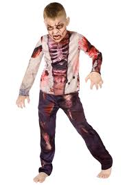 zombie costume spirit halloween scary kids costumes scary halloween costume for kids