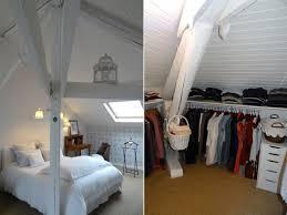 chambre dans les combles amenager comble en chambre idee deco chambre sous combles galerie
