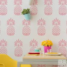 Pineapple Home Decor Pineapple Home Decor Stencil Ideal Stencils