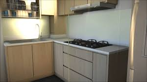 kitchen design hdb 3 bedroom hdb unit 520 ang mo kio ave 5 wmv youtube
