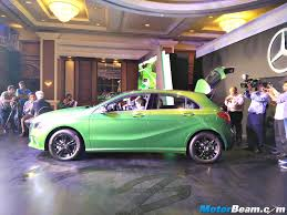 green mercedes a class 2016 mercedes a class facelift launched priced from rs 24 95 lakhs