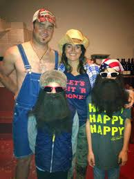 duck dynasty is one of the most popular diy halloween costumes