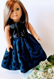 flower girl doll gift doll dress american girl doll dress 18 doll dress