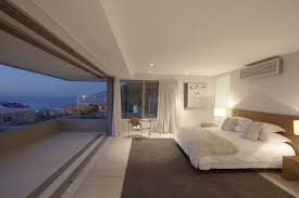 Interior Landscape Apartment Suite Penthouses Penthouse Sea Ocean Bedroom Bed Chair