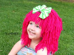 Cabbage Patch Kid Halloween Costume Halloween Costumes Kids Pink Wig Pageant Costume