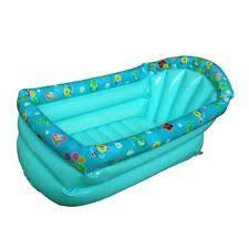 Baby Blow Up Bathtub Inflatable Baby Bath Ebay