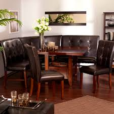 Dining Room Chairs On Casters Furniture Glamorous Big Small Dining Room Sets Bench Seating