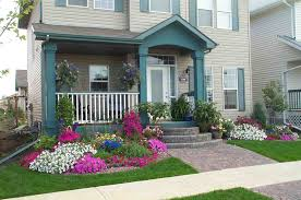 exterior yard design clipgoo terrific front with curvy border of